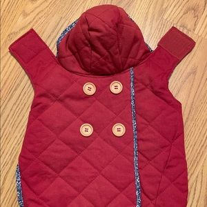 🐶NEVER WORN🐶 Quilted Dog Jacket
